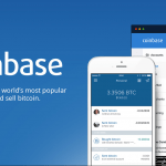 Image of Coinbase signup page with mobile phines