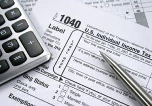 Tax prep materials