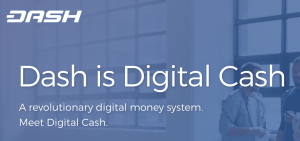 Dash is a peer to peer cryptocurrency