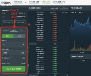 /Users/tc/Desktop/Stock Photos for TCF/GDAX Limit Order Buy Litcoin.jpg