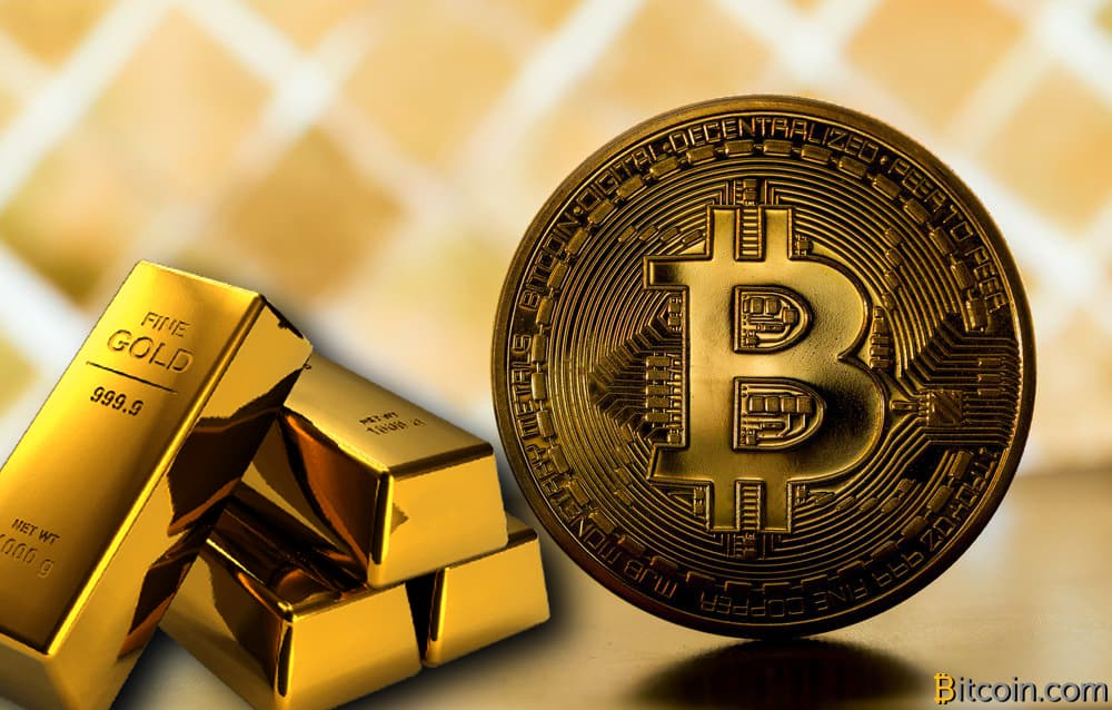Bitcoin is also digital gold