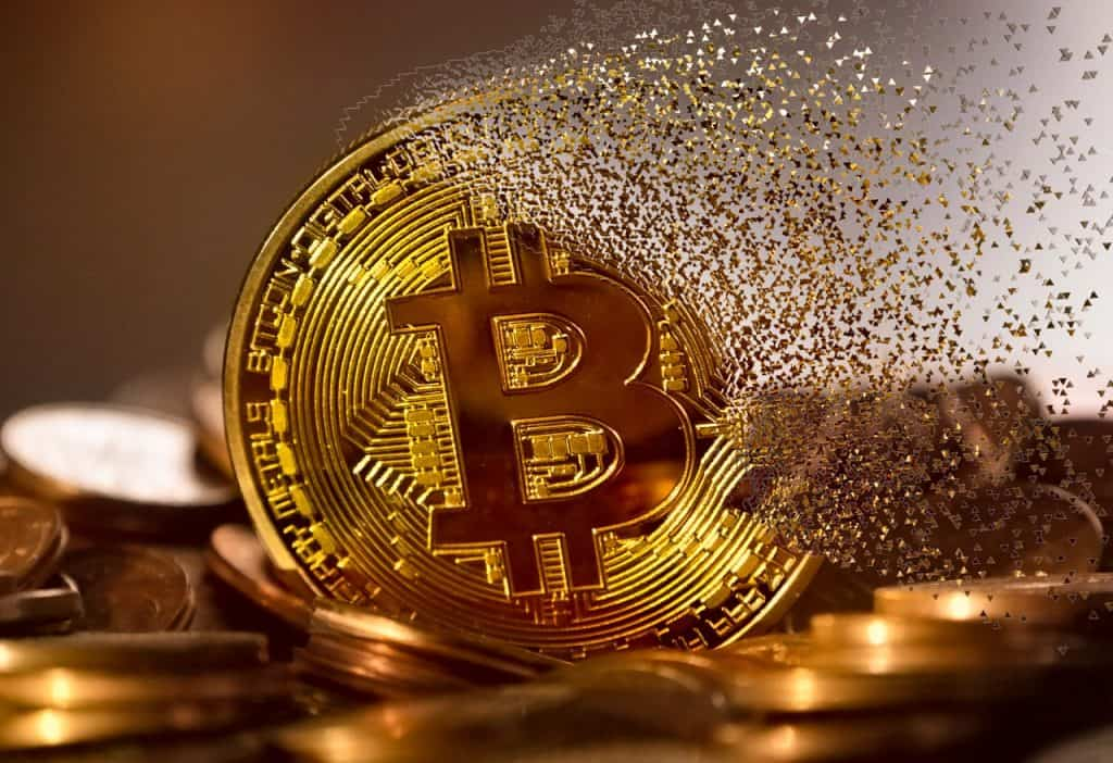 Gold bitcoin becoming dust